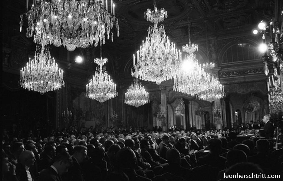 Charles De Gaulle à l'Elysée