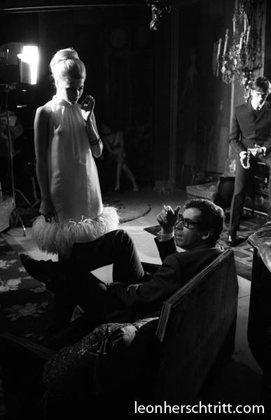 Roger Vadim et Jane Fonda